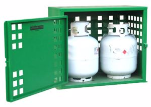 Picture of Gas Cylinder Storage 2 x 9kg LPG