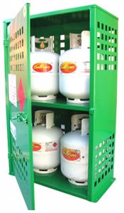 Picture of Gas Cylinder Storage 4 x 9kg