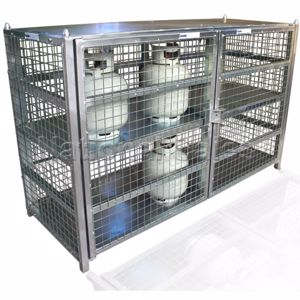Picture of 9Kg LPG Gas Storage Cage for 24 Cylinders